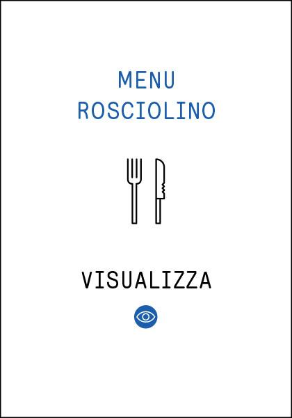 Menu Rosciolino