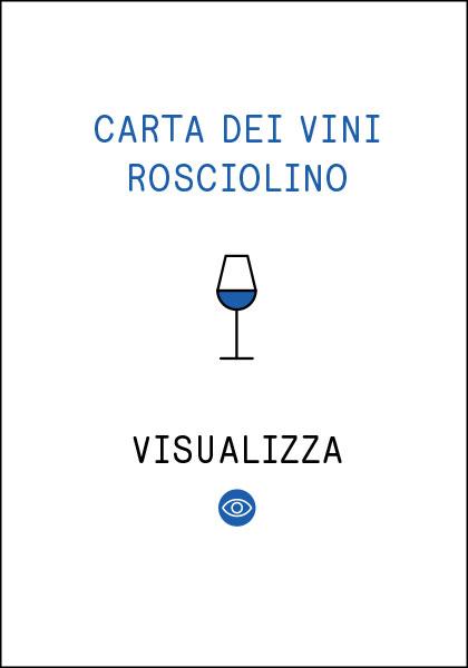 Carta dei Vini Rosciolino
